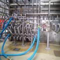 Limpeza quimica de tubulações industriais